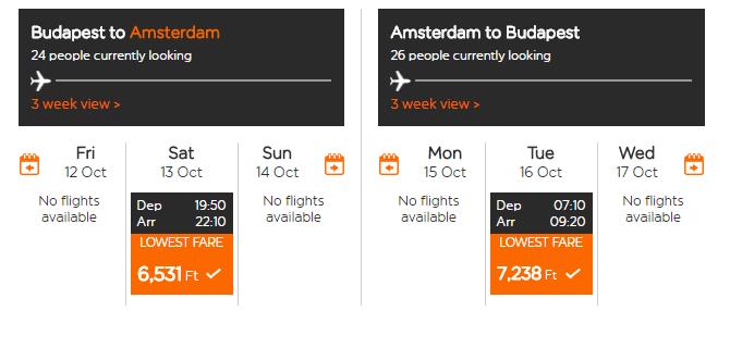 letenky Amsterdam