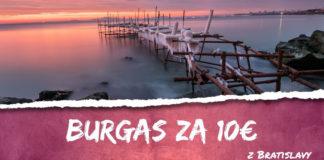 letenky z Bratislavy do Burgasu za 10€