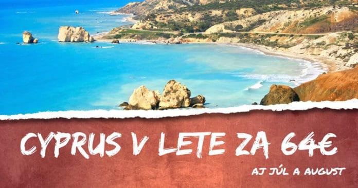 Cyprus na leto 2018 za 64€