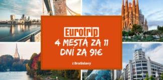 eurotrip - barcelona, turín, londýn, eindhoven