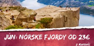 Nórske Fjordy od 23€
