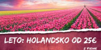letenky z Viedne do Holandska