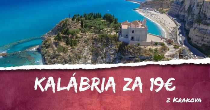 letenky z Krakova do Lamezia Terme už za 19€