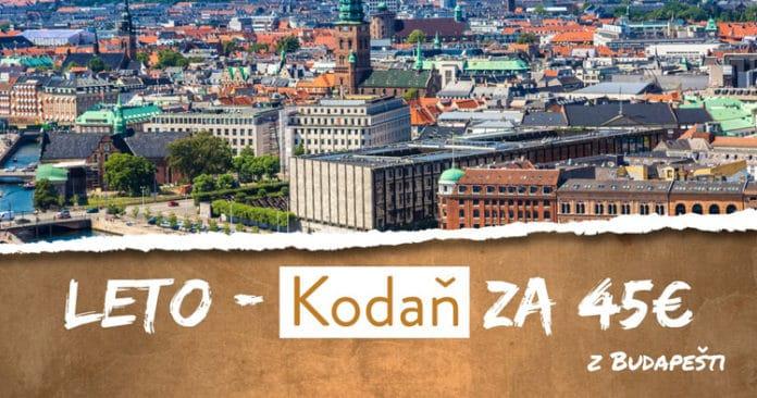 letenky z Budapešti do Kodane za 45€