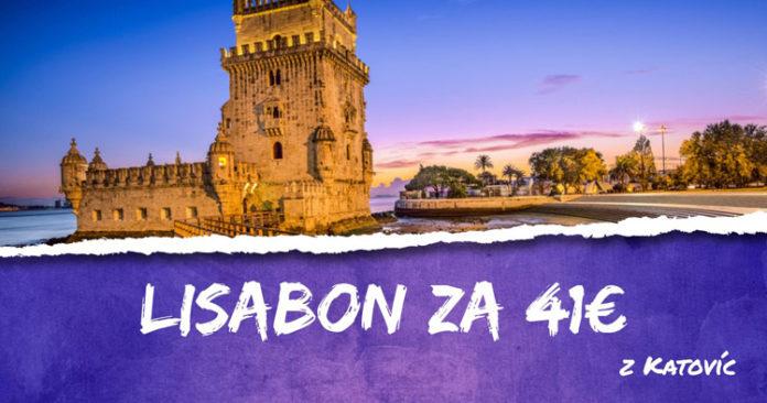 Lisabon z Katovíc za 41€