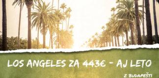 Los Angeles aj na LETO za 443€