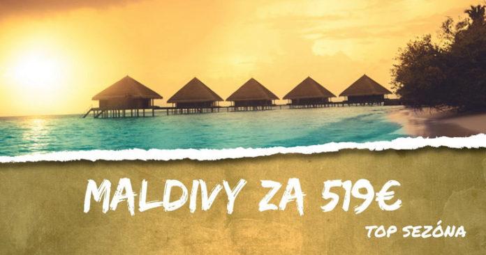 letenky z Prahy na Maldivy za 519€
