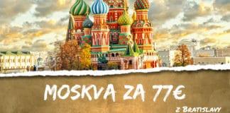 letenky z Bratislavy do Moskvy