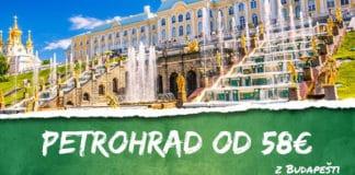 letenky z Budapešti do Petrohrad-u od 58€