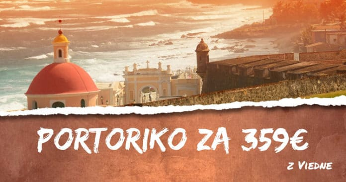 letenky do Portorika z Viedne za 359€