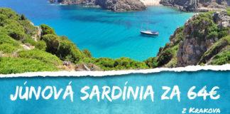 Sardínia v júni za 64€