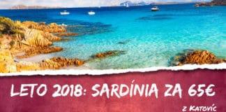 Sardínia z Katovíc za 65€