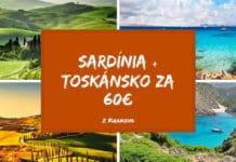 sarídnia + toskánsko za 60€