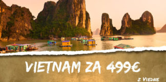 Vietnam z Viedne za 499€