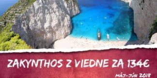 letenky na Zakynthos z Viedne za 134€