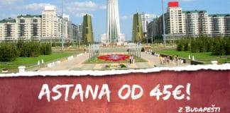 letenky z Budapešti do Astany od 45€