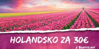 letenky z Bratislavy do Holandska za 30€