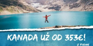 letenky z Viedne do Kanady už od 353€