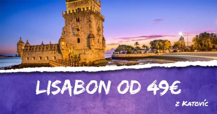 letenky z Katovíc do Lisabon-u