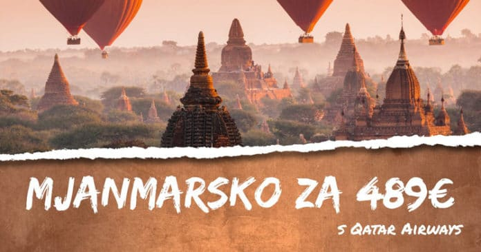 letenky z Budapešti do Mjanmarska za 489€