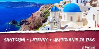letenky + ubytovanie na Santorini za 136€
