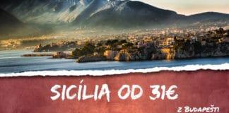 sicília z budapešti od 31€