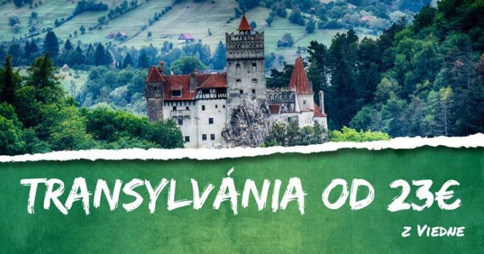 letenky z Viedne do Transylvánie od 23€