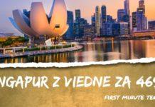 letenky z Viedne do Singapur-u za 469€