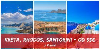 Kréta Rhodos Santorini s letenkami od 55€