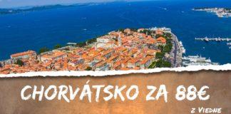 letenky z Viedne do Zadar.u za 88€