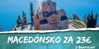 letenky z Bratislavy do Skopje za 23€