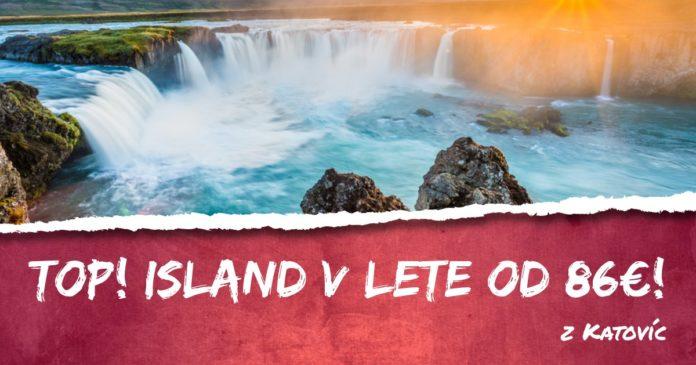 letenky z Katovíc na Island od 86€