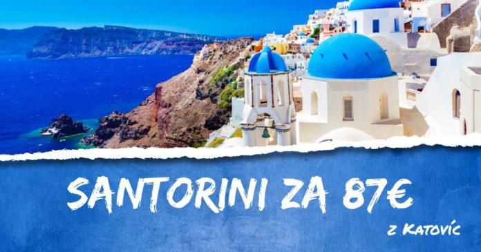 letenky z Katovíc do Santorini za 87€