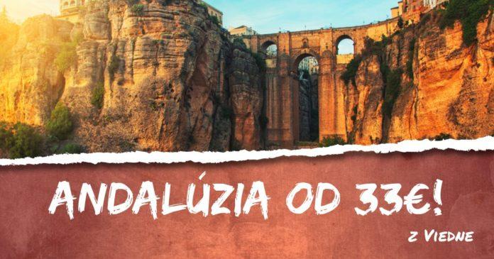 letenky z Viedne do Andalúzie od 33€