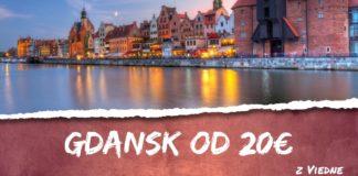 letenky z Viedne do Gdansk-u od 20€
