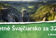 letenky z Budapešti do Švajčiarska od 32€