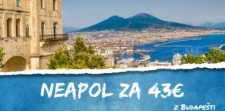 letenky z Budapešti do Neapolu za 43€