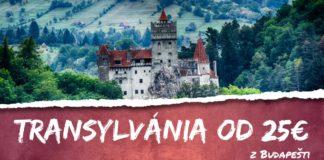 letenky z Budapešti do Transylvánie od 25€