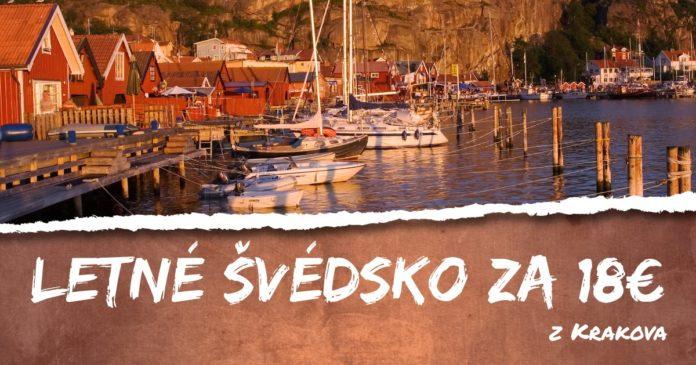 letenky z Krakova do Švédska za 18€