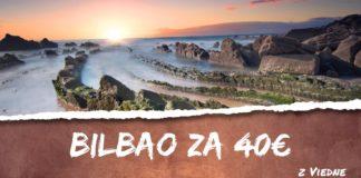 letenky z Viedne do Bilbaa za 40€