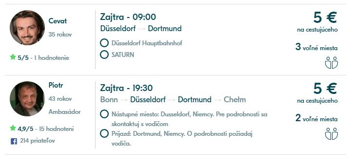 jazda z Dusseldorfu do Dortmundu