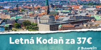 letenky z Budapešti do Kodane za 37€