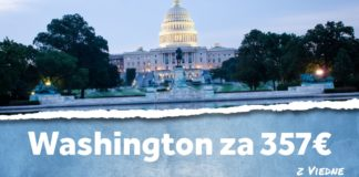 letenky z Viedne do Washingtonu