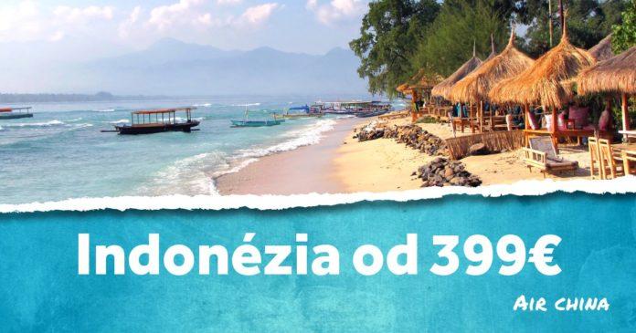 letenky do Indonézie za 399€