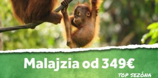 letenky do Malajzie od 349€