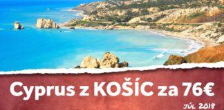 letenky z Košíc na Cyprus za 76€