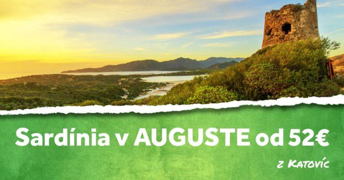 Sardínia v auguste od 52€