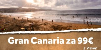 letenky z Viedne na ostrov Gran Canaria za 99€