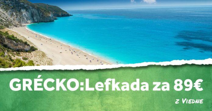 letenky z Viedne na ostrov Lefkada