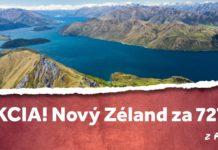 letenky z Prahy na Nový Zéland za 727€